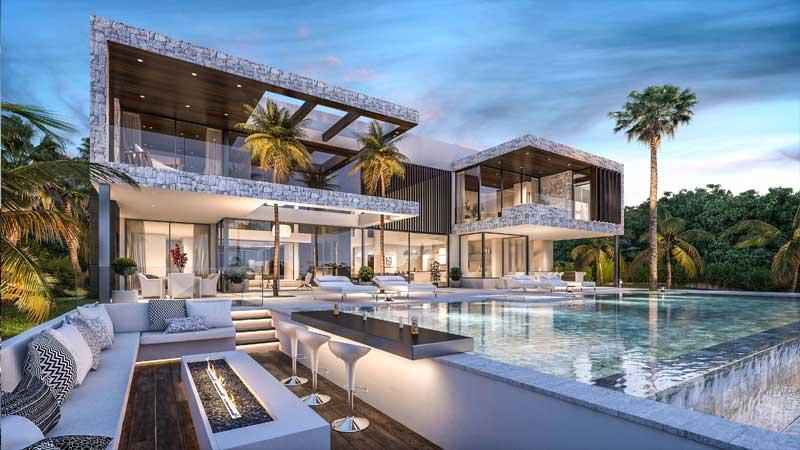6 Bed, 6 Bath Luxury Villa in Marbella.